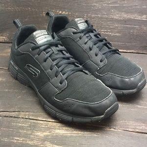 Skechers Dual-Lite Memory Foam Sneakers Size 9.5